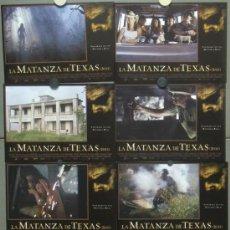 Cine: SCDO QB34 LA MATANZA DE TEXAS JESSICA BIEL ORIGINAL SET 8 FOTOCROMOS ORIGINAL ESTRENO. Lote 31873785