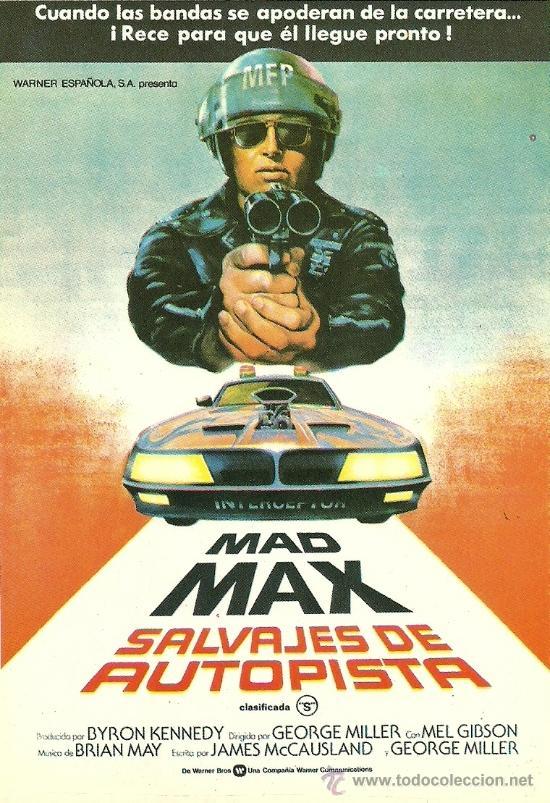 MAD MAX (Cine - Fotos, Fotocromos y Postales de Películas)