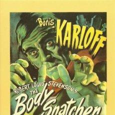 Cine: BORIS KARLOFF - EL LADRÓN DE CUERPOS - THE BODY SNATCHER. Lote 31909128