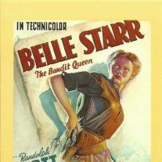 Cine: BELLE STAR. Lote 31971328