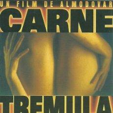 Cine: ALMODOVAR - CARNE TREMULA. Lote 32042530