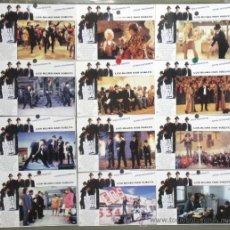 Cine: PC50 BLUES BROTHERS 2000 DAN AYKROYD JOHN GOODMAN SET 12 FOTOCROMOS ORIGINAL ESTRENO. Lote 32115415