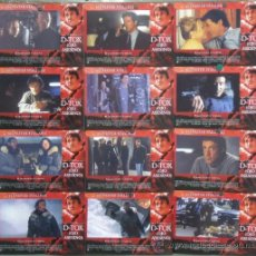 Cine: PC64 D-TOX OJO ASESINO SYLVESTER STALLONE TOM BERENGER SET COMPLETO 12 FOTOCROMOS ORIGINAL ESTRENO. Lote 32115692
