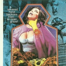 Cine: BLOOD FROM THE MUMMY'S TOMB. Lote 32165373