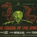 Cine: THE TERROR OF THE TONGS *** ENVIO CERTIFICADO GRATIS***. Lote 32191303