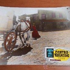 Cinema: CUATRO BALAZOS, UN FOTOCROMO DE CARTON. Lote 32216888