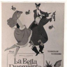 Cine: F9035 LA BELLA DURMIENTE WALT DISNEY FOTO ORIGINAL B/N ESPAÑOLA. Lote 32241723