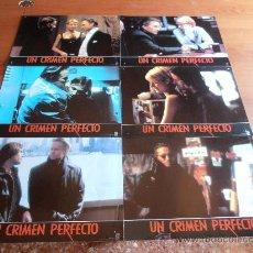 Cine: UN CRIMEN PERFECTO,MICHAEL DOUGLAS 6 FOTOCROMOS (2210). Lote 32285884