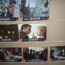 Cine: SALVAJES IMANOL ARIAS 7 FOTOCROMOS ORIGINALES YY. Lote 32413439