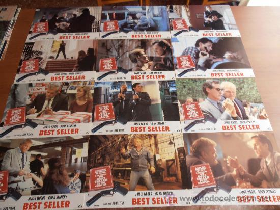 BEST SELLER, 12 FOTOCROMOS (3636) (Cine - Fotos, Fotocromos y Postales de Películas)