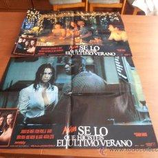 Cine: AUN SE LO QUE HICISTEIS EL ULTIMO VERANO,4 FOTOCROMOS GRANDES 8 FOTOCROMOS TOTAL, (37345). Lote 32443589