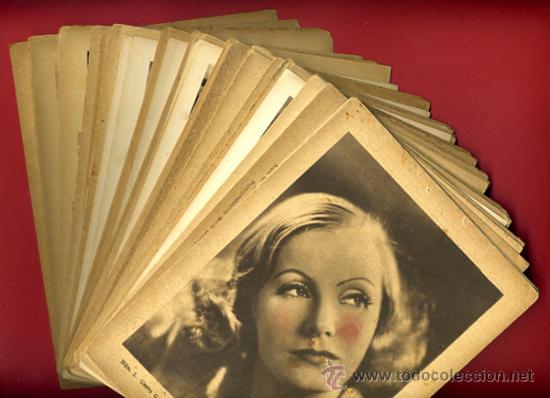 LOTE DE 50 FOTOS ARTISTAS DE CINE AÑOS 30-40, ESTAMPAS DEL CINEMA, ORIGINALES (Cine - Fotos y Postales de Actores y Actrices)