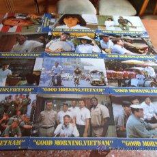 GOOD MORNING, VIETNAM,ROBIN WILLIAMS 12 FOTOCROMOS (4439)