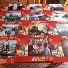 Cine: SOVIET, 12 FOTOCROMOS (4745). Lote 32730471