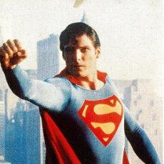 Cine: JUEGO DE 10 FOTOCROMOS DE LA PELÍCULA SUPERMAN. ORIGINALES AÑO 1978. MARLON BRANDO CHRISTOFER REEVE. Lote 32753888