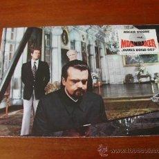 Cine: MOONRAKER, FOTOCROMO ORIGINAL PUBLICIDAD DE LA PELÍCULA, JAMES BOND 007, ROGER MOORE - REFª (JC). Lote 32896922