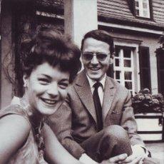 Cine: SCHNEIDER, ROMY & MEYEN, HARRY (1966)_CAMERA PRESS. Lote 33002872