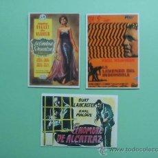Cine: DE CINE: LOTE 3 IMANES. CARTELES DE PELÍCULAS CLÁSICAS. ¡COLECCIONISTA!. Lote 33162152