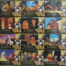 Cine: PK57 LA RUTA HACIA EL DORADO DREAMWORKS ANIMACION SET COMPLETO 12 FOTOCROMOS ORIGINAL ESTRENO. Lote 33312657