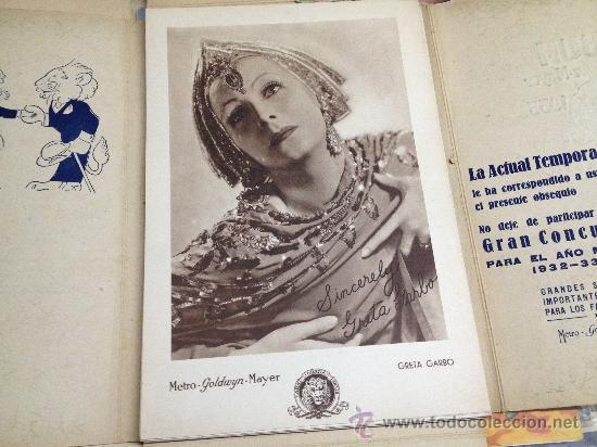 Cine: ALBUM METRO GOLDWIN MAYER 1932-33 EL AÑO METRO - Foto 2 - 33328814