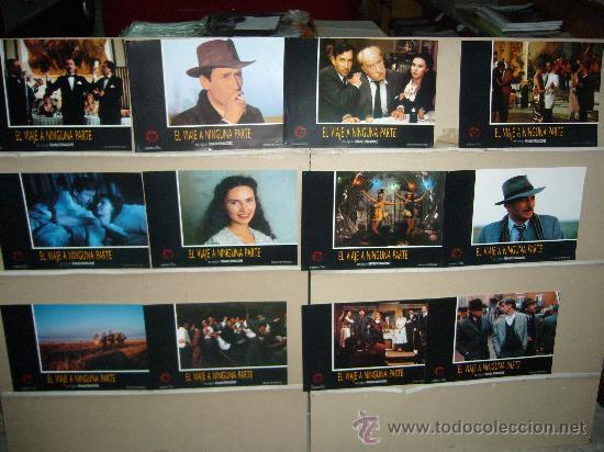 EL VIAJE A NINGUNA PARTE FERNAN GOMEZ JOSE SACRISTAN JUEGO COMPLETO Q (Cine - Fotos, Fotocromos y Postales de Películas)