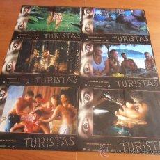 Cine: TURISTAS, 6 FOTOCROMOS (7122). Lote 33412346