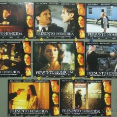 Cine: PN05 PRESUNTO HOMICIDA BILL PULLMAN GABRIELLE ANWAR SET COMPLETO 8 FOTOCROMOS ORIGINAL ESTRENO. Lote 33485867