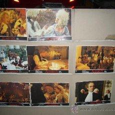 Cine: AMADEUS MILOS FORMAN 8 FOTOCROMOS ORIGINALES Q. Lote 33592981
