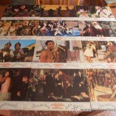 Cine: LA LOCA HISTORIA DEL MUNDO,MEL BROOKS 12 FOTOCROMOS (6935). Lote 33655606