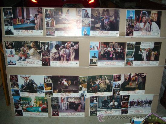 CRISTOBAL COLON DE OFICIO DESCUBRIDOR ANDRES PAJARES OZORES JUEGO COMPLETO DE 16 FOTOCROMOS B2(1099) (Cine - Fotos, Fotocromos y Postales de Películas)