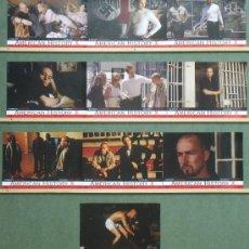 Cine: QC16 AMERICAN HISTORY X EDWARD NORTON SET COMPLETO 10 FOTOCROMOS ORIGINAL ESTRENO. Lote 33819967