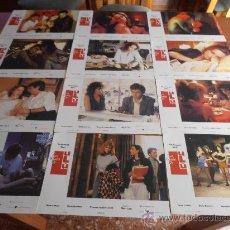 Cinema: LAS EDADES DE LULÚ,BIGAS LUNA,OSCAR LADOIRE,MARIA BARRANCO 12 FOTOCROMOS (6826). Lote 33963811