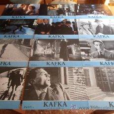 Cine: KAFKA,JEREMY IRONS 12 FOTOCROMOS (6840). Lote 33985406
