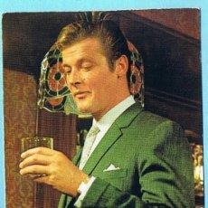 Cine: ROGER MOORE. 733 FOTO H. SEGUI. POSTAL OSCAR COLOR, 1967. Lote 34124482