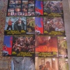 Cine: MISTERIO EN LA ISLA DE LOS MONSTRUOS JUAN PIQUER SIMON PAUL NASCHY - COLECCION 8 FOTOCROMOS GIGANTES. Lote 34011230