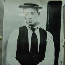 Cine: BUSTER KEATON . POSTER. 60 X 87 CMS.. Lote 189511433