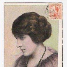 Cine: POSTAL DE LA ACTRIC PAULINE BUSH DE 1916 . Lote 34099795