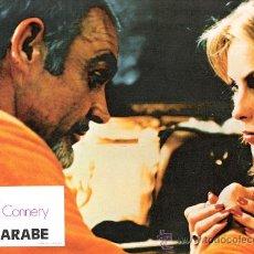 Cine: EL ARABE FOTOCROMO ORIGINAL DEL ESTRENO DE LA PELICULA LOBBY CARDS SEAN CONNERY. Lote 34111634