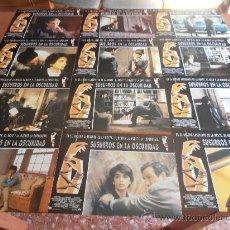 Cine: SUSURROS EN LA OSCURIDAD, 12 FOTOCROMOS (5791). Lote 34232647