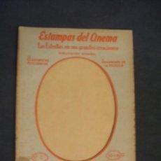 Cine: ESTAMPAS DEL CINEMA Nº 6 - PORTADILLA DE EL DIOS DEL MAR - . Lote 34233613