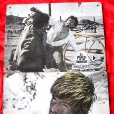 Cine: EL PRECIO DE UN HOMBRE 1966 (COLECCION DE 7 FOTOCROMOS ORIGINALES DE CARTON) TOMAS MILLIAN. Lote 34339704