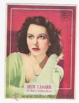 HEDY LAMARR DE METRO GODWYN MAYER (Cine - Fotos y Postales de Actores y Actrices)