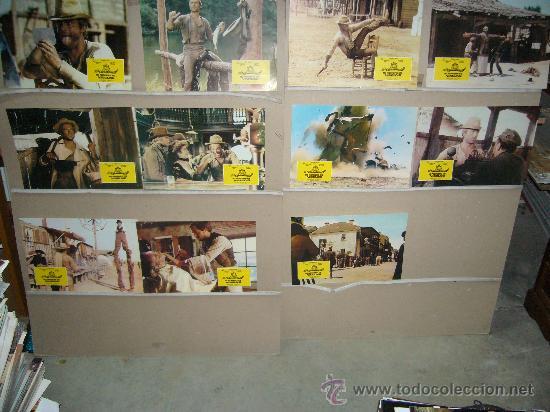 MI NOMBRE ES NINGUNO TERENCE HILL HENRY FONDA 11 FOTOCROMOS ORIGINALES B (Cine - Fotos, Fotocromos y Postales de Películas)
