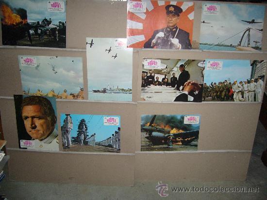 TORA TORA TORA SEGUNDA GUERRA MUNDIAL 10 FOTOCROMOS ORIGINALES B (Cine - Fotos, Fotocromos y Postales de Películas)