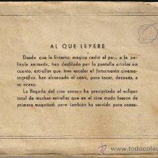 Cine: ÁLBUM ESTRELLAS DE LA PANTALA - EDITORIAL CISNE -COLECCIÓN DE 232 CROMOS - 153 CROMOS EN EL ÀLBUM. Lote 35171015