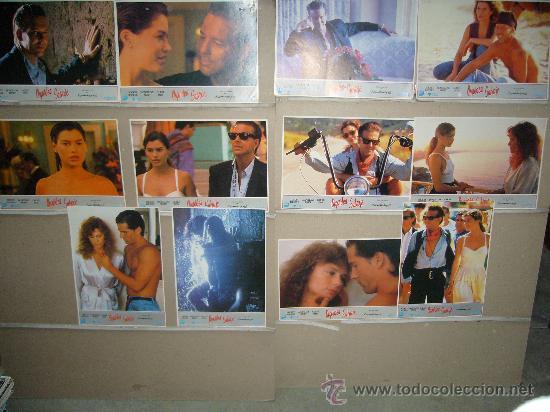 ORQUIDEA SALVAJE MICKEY ROURKE JUEGO COMPLETO B (Cine - Fotos, Fotocromos y Postales de Películas)