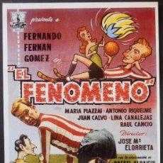 Cinema: POSTAL SERIE SPANISH POSTERS 15X10,5 CM Nº 112, EL FENOMENO,FERNANDO FERNAN GOMEZ . Lote 35134290