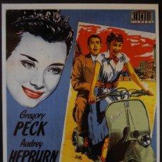 Cinema: POSTAL SERIE SPANISH POSTERS 15X10,5 CM Nº 178, VACACIONES EN ROMA,AUDREY HEPBURN,GREGORY PECK,JANO . Lote 35169066