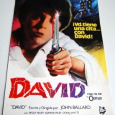Cine: DAVID FRIDAY THE 13TH THE ORPHAN VIERNES 13 EL ORFANATO 6 FOTOCROMOS JOHN BALLARD. Lote 35415626