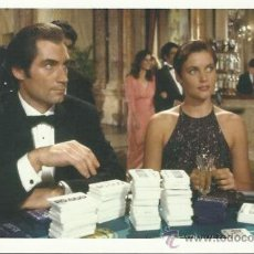 Cine: POSTAL JAMES BOND 007-TIMOTHY DALTON Y CAREY LOWELL-LICENCIA PARA MATAR. Lote 35566541